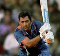 Dhoni century lifts India to big total