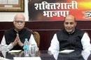 Challenge to BJP chief's authority will create crisis: Rajnath
