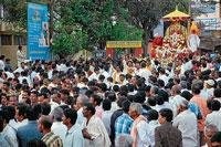 Thousands take part in Srinivasa Kalyana Mahotsava procession