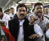 Fasting Andhra MP disappears from hospital