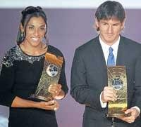 Messi is Footballer of the Year