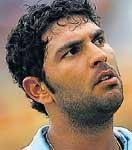 Yuvraj ruled out of series