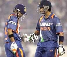 Kohli, Gambhir script Indian win