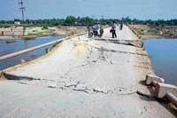 Bridge collapses thrice in 3 years