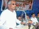 Try to solve problems of tribals: Channabasappa
