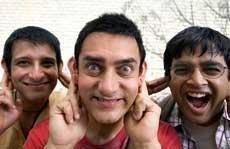 Aamir Khan's '3 Idiots' beats his own 'Ghajini'