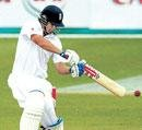 Cook ton hands England lead
