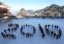 Tourists throng Himachal on New Year's Eve
