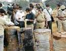Jigani company had dumped chemical waste