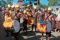 Attractive procession adds colour to Sammelan