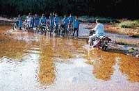 Lack of a bridge keeps Yennehole isolated