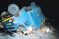 23 killed, 41 injured in 3 accidents