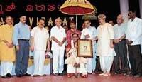 Balamuralikrishna kicks start Virasat with a musical touch to his emotions