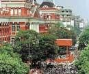 The city that is forever ready for 'bandh'