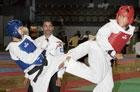 Sabina fights her way to gold