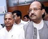 Amar's resignation not accepted: Mulayam