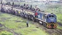 Rail project changes track