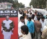 BJP workers across State protest against Gowda