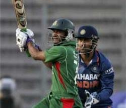 Indian bowlers restrict Bangladesh to 247 for six