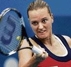 Sania goes down fighting; Dokic eases past Baltacha