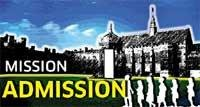 Centralised admission for UG courses from 2010