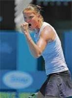 Serena off to good start