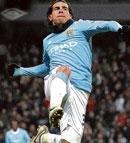 Superb Tevez spurs City to big win