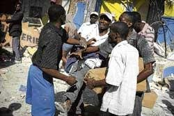 Fear, hunger as aid trickles in