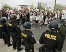 Thousands protest US sheriff's immigration efforts
