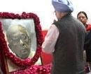 Ansari, Manmohan pay homage to Jyoti Basu