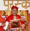 Ustad Amjad Ali Khan honoured with Saraswati Puraskar