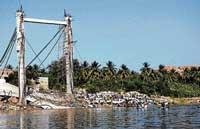 Bridge collapse: Debris not cleared even after a year