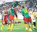 Cameroon, Zambia make it to last eight