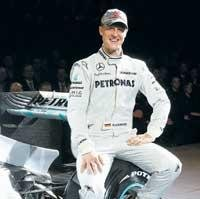 Totally committed to new challenge, says Schumi
