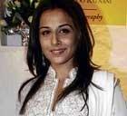 Vidya has grey shades