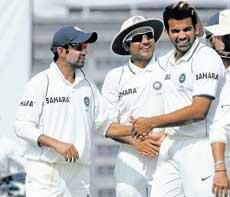 India complete series sweep