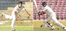Mithun, Wriddhiman Saha named in team for first Test against SA