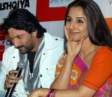 Bachchans wish Vidya all the best for 'Ishqiya'