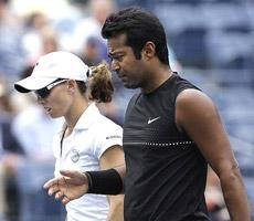 Paes-Black in Australian Open mixed doubles final