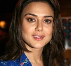 Preity won't catwalk in Bangalore