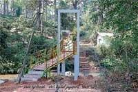 Moorugadde gets hanging foot-bridge finally