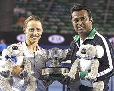 Paes on par with Bhupathi now
