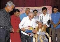 V K Murthy feted