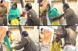 Police inspector beats up Dalit woman; services terminated
