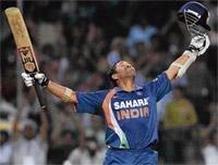 Super Sachin breaks run barrier