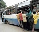 Overcrowded buses