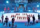 Triumphant end to Winter Olympics
