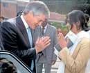 Aussie minister meets Krishna