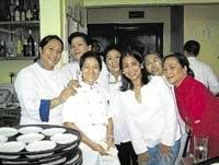 Women as cordon bleu chefs, please!