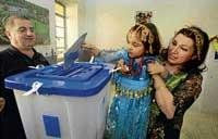 Iraqi voters defy threats, violence